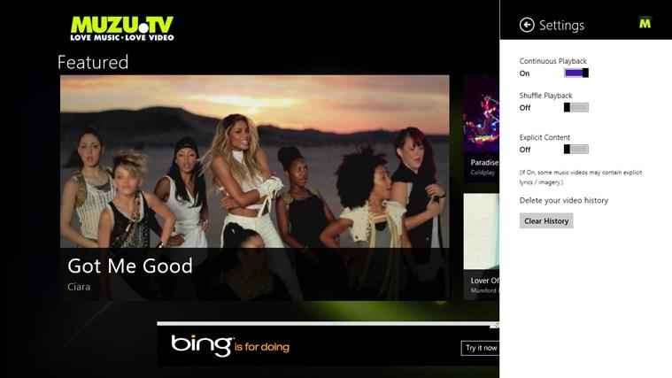 MUZU.TV screen shot 3