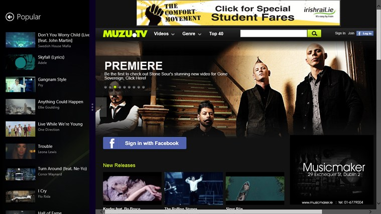 MUZU.TV screen shot 5
