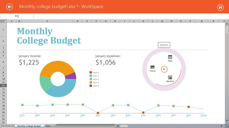 ComponentOne WorkSpace screen shot 1
