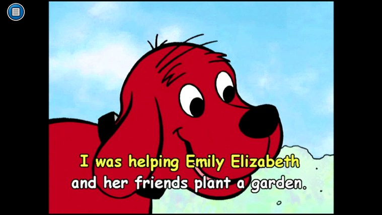 Clifford's Reading Adventures screen shot 1