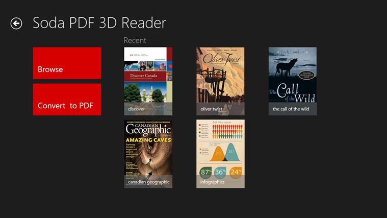 Soda PDF 3D Reader screen shot 1