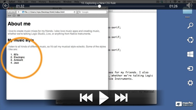 HTML5 & CSS - Quicklook Guide gabháil scáileáin 3