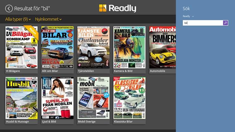 Readly-skärmbild 7