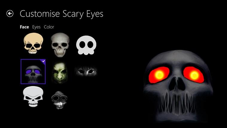Scary Eyes screen shot 1