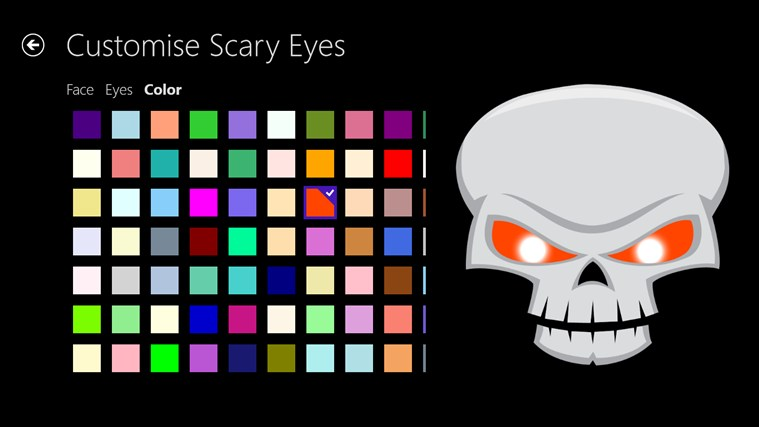 Scary Eyes screen shot 3