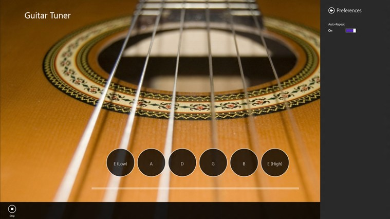 Guitar Tuner screen shot 1