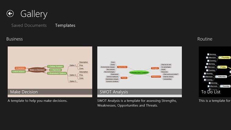 NovaMind Mind Mapping Complete screen shot 1
