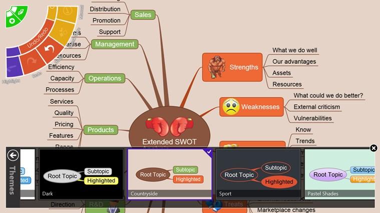 NovaMind Mind Mapping Complete screen shot 5