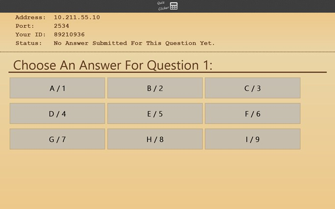 Quiz Clicker screen shot 3