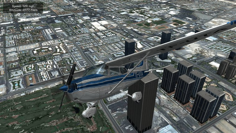 Flight Unlimited Las Vegas screen shot 1