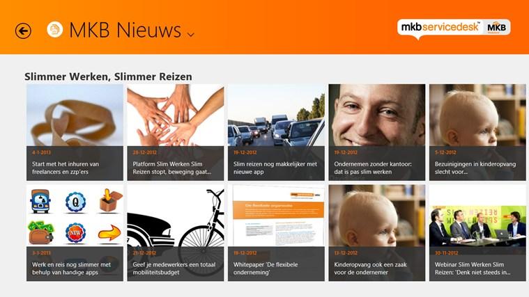 MKB Servicedesk schermafbeelding 1