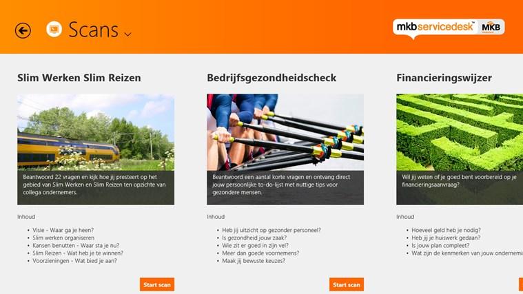 MKB Servicedesk schermafbeelding 3