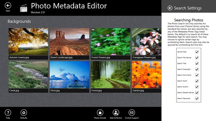 Photo Metadata Editor screenshot 5