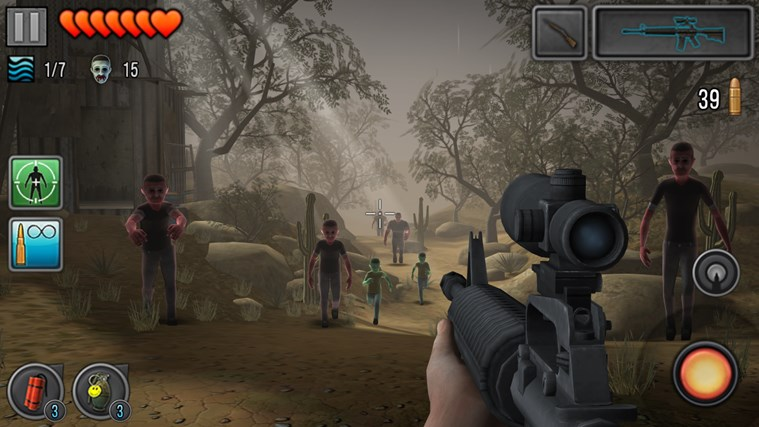 Last Hope - Zombie Sniper 3D screen shot 3