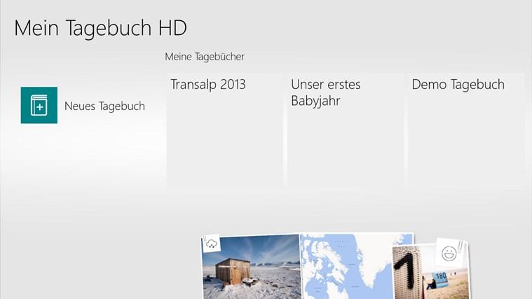 Mein Tagebuch HD Screenshot 1