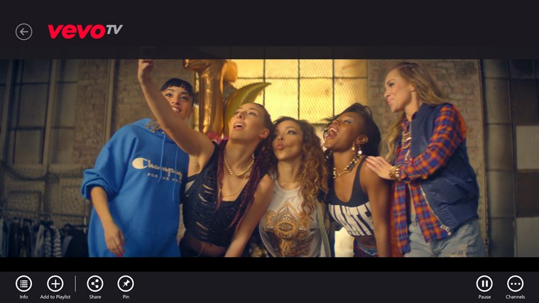 VEVO Screenshot 1