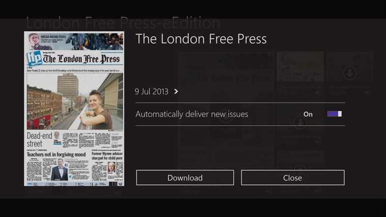 London Free Press-eEdition screen shot 1