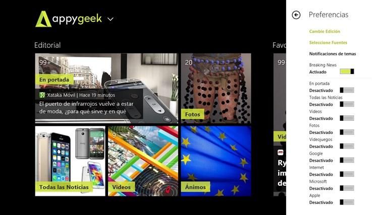 Appy Geek captura de pantalla 1