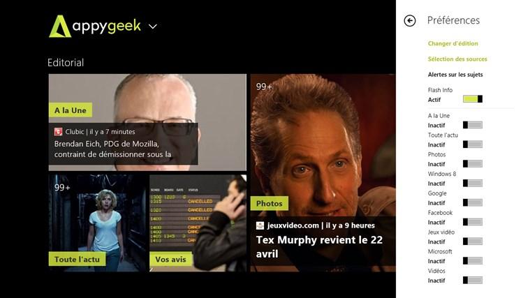 Appy Geek capture d'écran 1