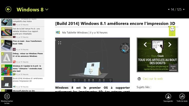 Appy Geek capture d'écran 3