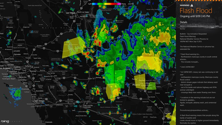 MyRadar Weather Radar screen shot 1