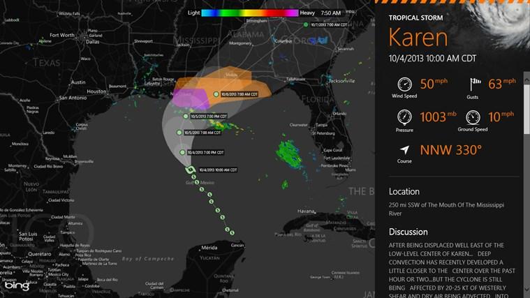 MyRadar Weather Radar screen shot 3
