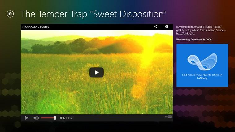 The Temper Trap FANfinity screenshot 3