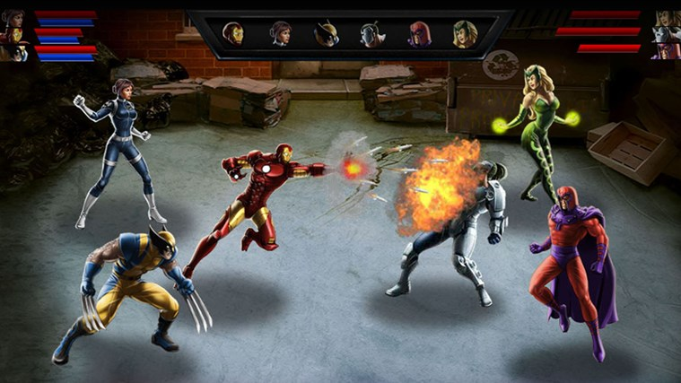 Avengers Alliance screen shot 1