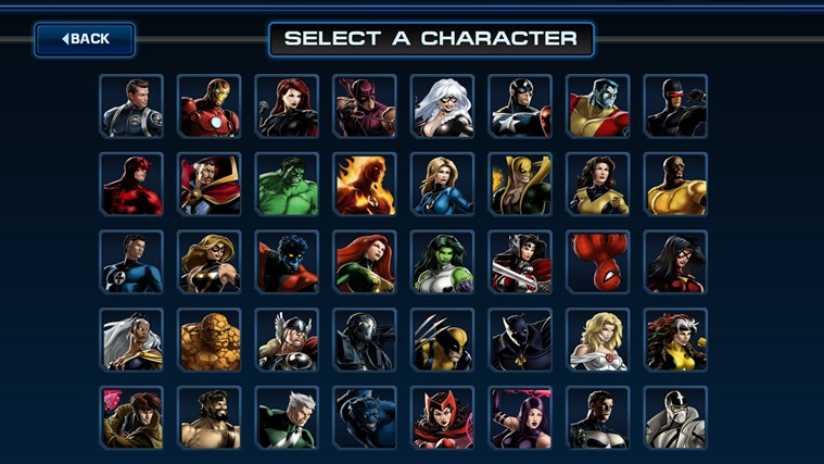 Avengers Alliance screen shot 3
