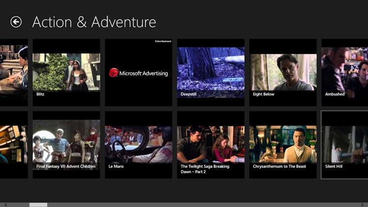 Free Movies Box skjermbilde 1