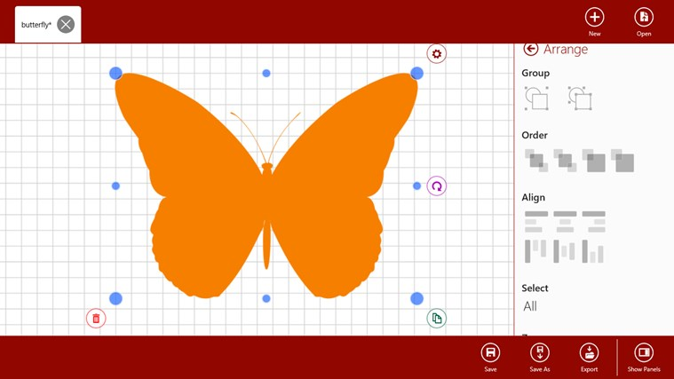 Vector ArtStudio screen shot 3