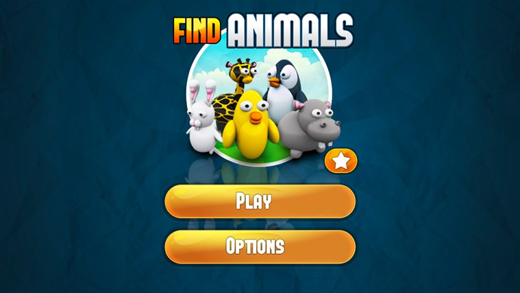 Find Animals screen shot 1
