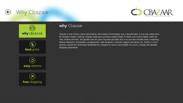 CBAZAAR screen shot 5