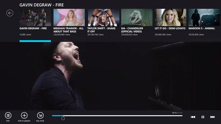 VEVO screen shot 3