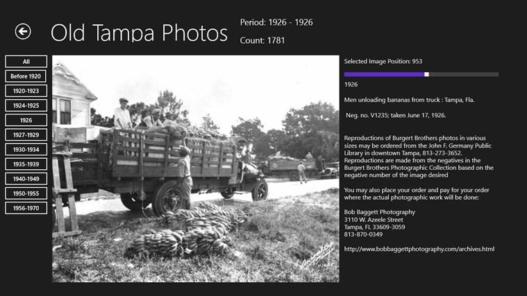 Old Tampa Photos screen shot 5