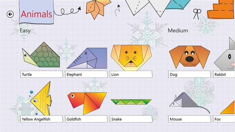 Origami HD screen shot 3