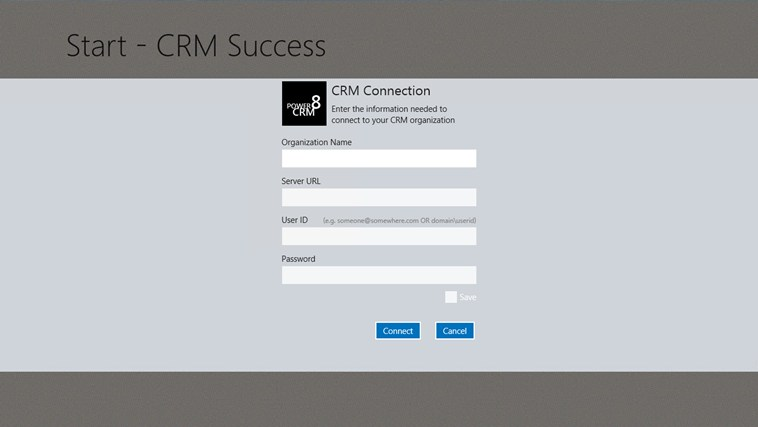 Power 8 CRM screen shot 1