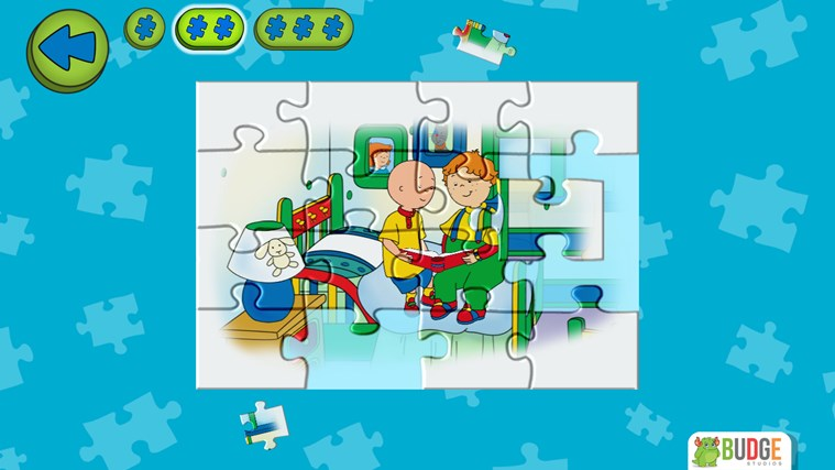 Caillou House of Puzzles screen shot 3