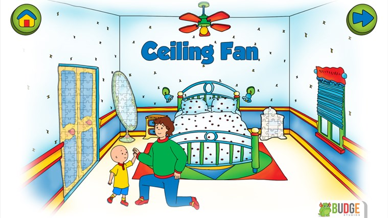 Caillou House of Puzzles screen shot 5