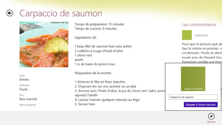 Windows windows cuisine aufeminin for Aufeminin com cuisine