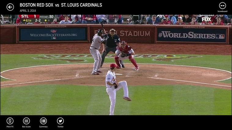 MLB.TV screen shot 3