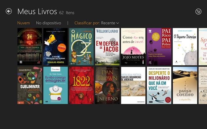 Kindle captura de tela 1