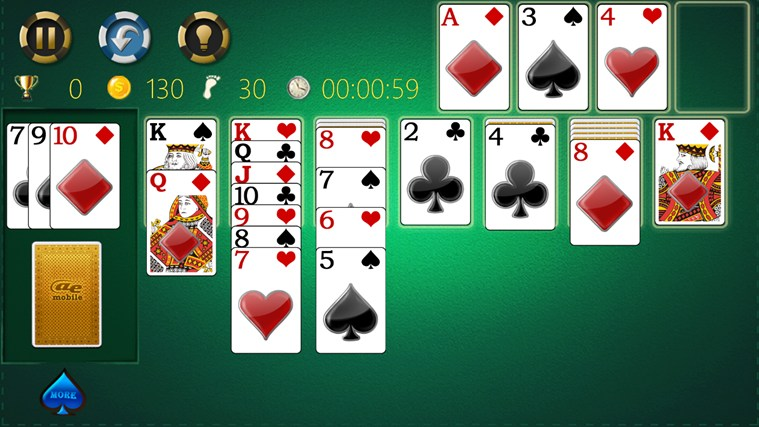 AE Solitaire screen shot 3