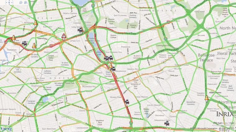 INRIX Traffic schermafbeelding 1