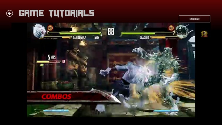 Killer Instinct III Strategy Guide screen shot 3