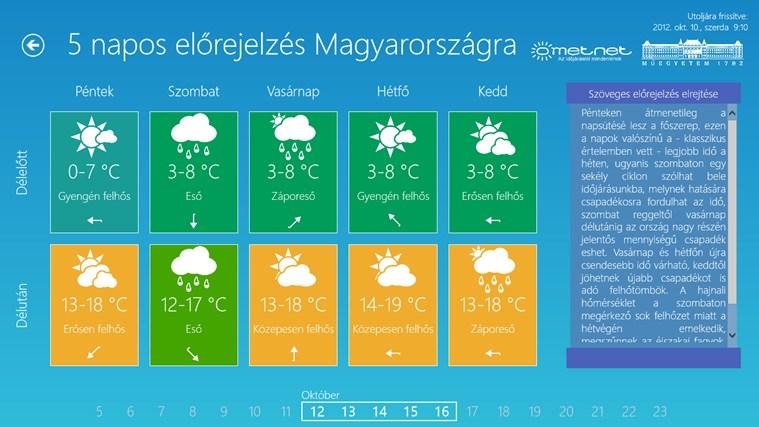 Időjárás mindenkinek screen shot 1