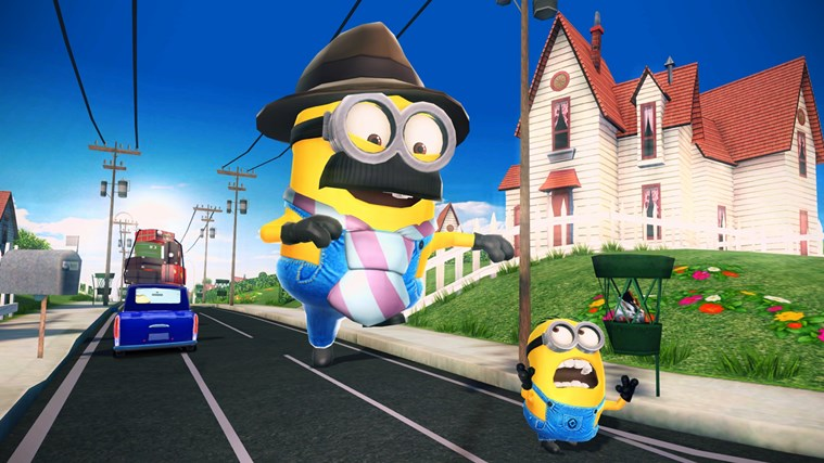 Despicable Me: Minion Rush schermafbeelding 3