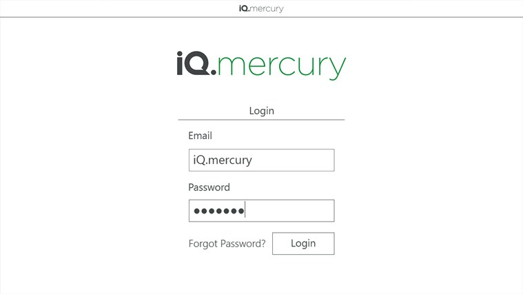 iQ.mercury screen shot 1