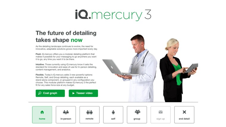 iQ.mercury screen shot 3
