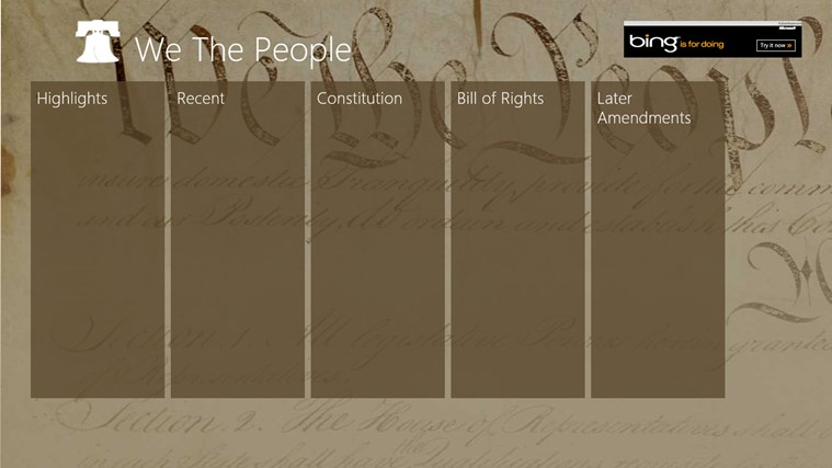 We The People screen shot 3